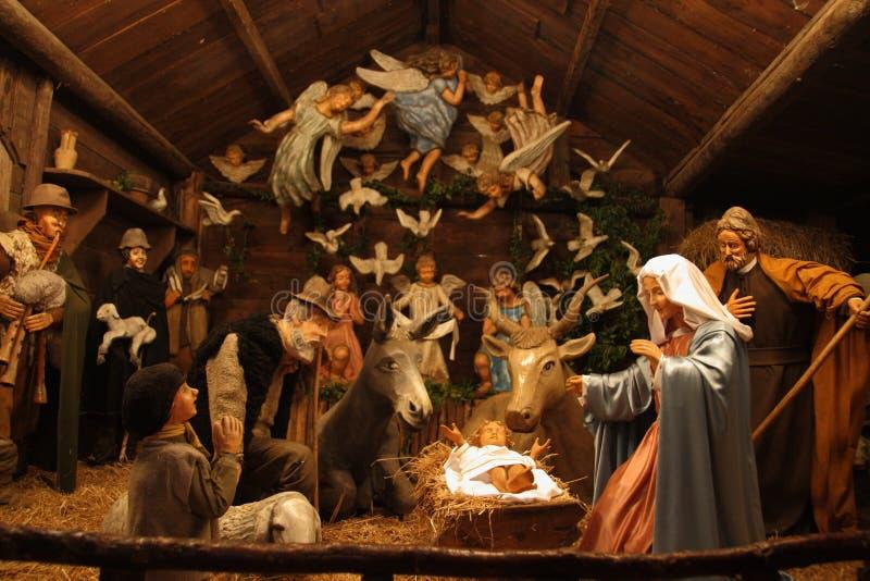 Den Sabbioni Kristi födelsen - Crema, Lombardia, Italien fotografering för bildbyråer