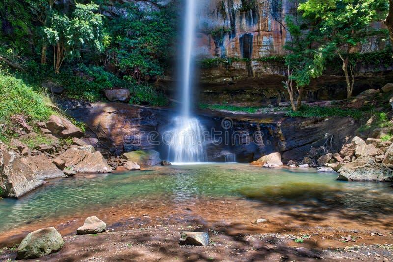 Den `-Salto Suizo `en i Paraguay royaltyfria bilder