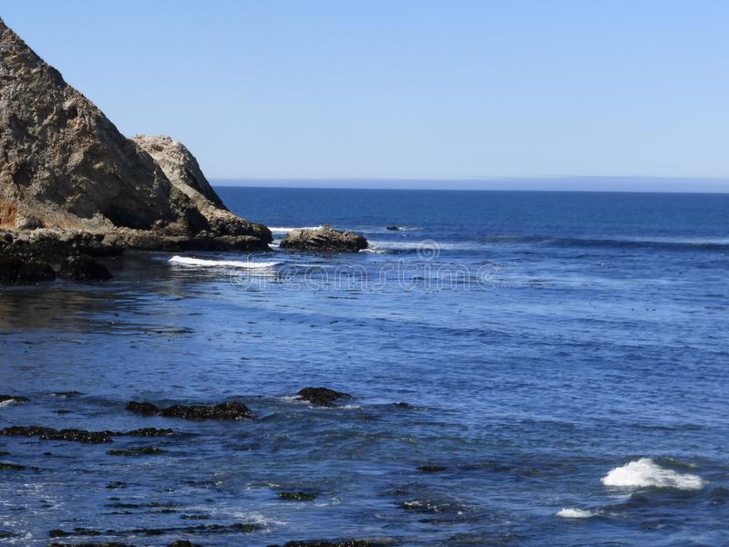 Den Santa Monica pir i Kalifornien royaltyfria bilder