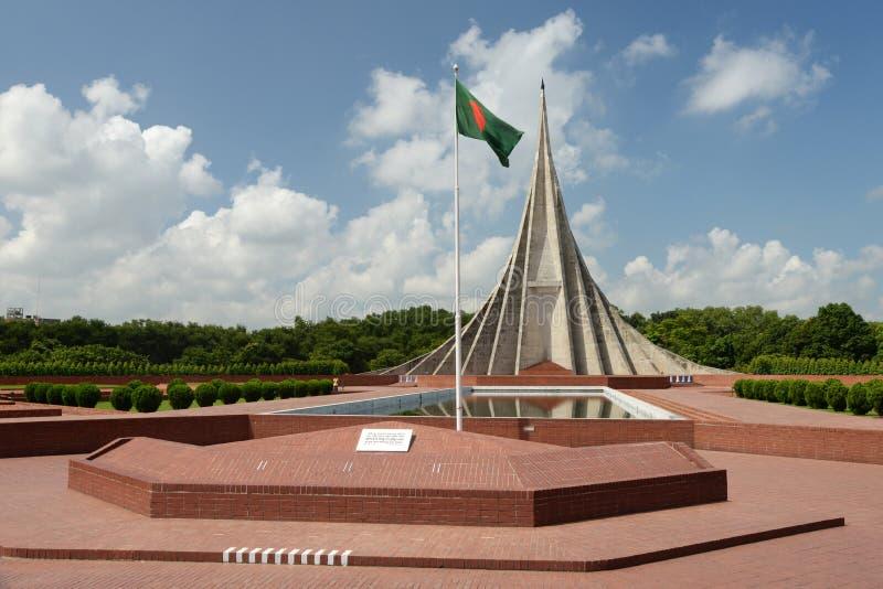 Den Savar medborgaren spelar martyr minnesmärken, Savar arkivbild