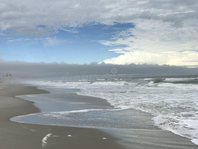 Den sceniska utrymmekusten av Florida - USA - Atlantic Ocean fotografering för bildbyråer