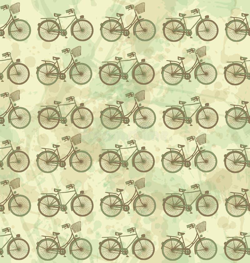 Den seamless cykeln mönstrar fotografering för bildbyråer