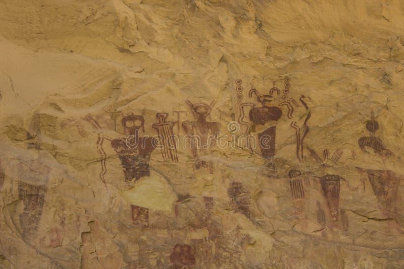 Den Seg kanjonbarriären vaggar Art Panel Close Up royaltyfria bilder