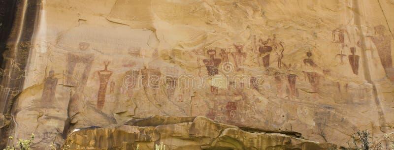 Den Sego kanjonbarriären vaggar Art Panel arkivbild