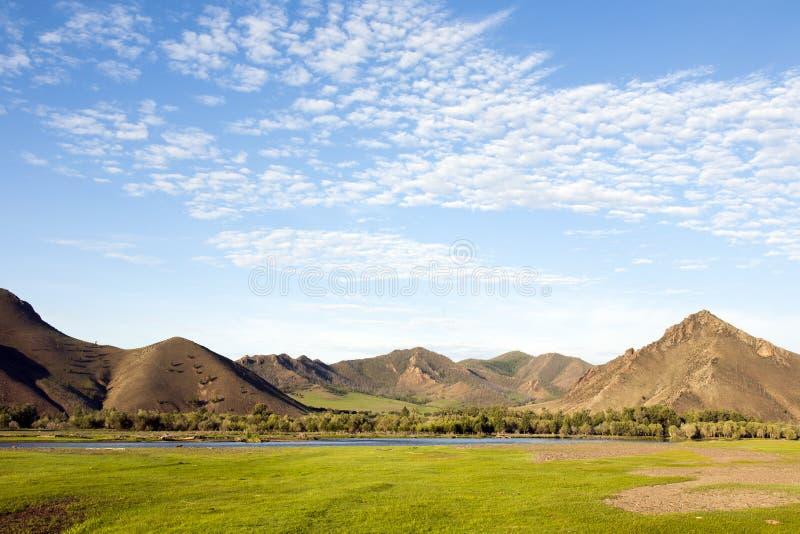 Den Selenge floden royaltyfri bild