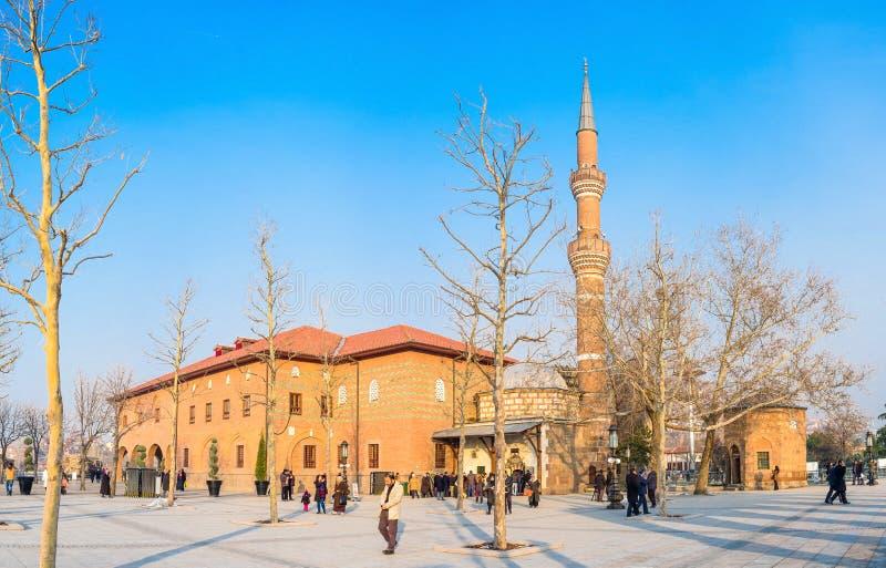 Den Seljuk moskén royaltyfri bild