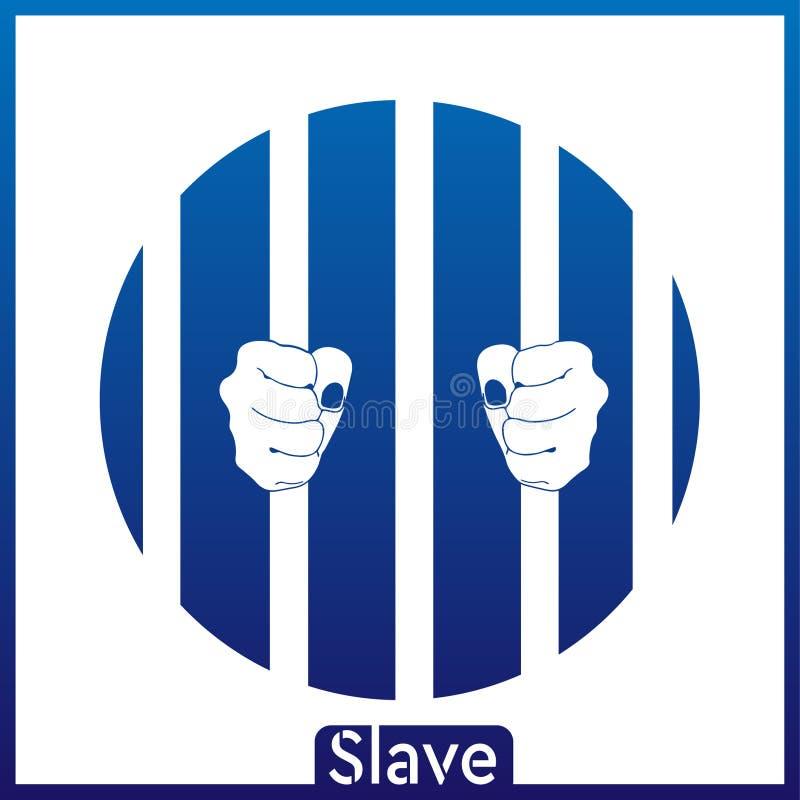 Den slav- blåvita bakgrunden EPS vektor illustrationer