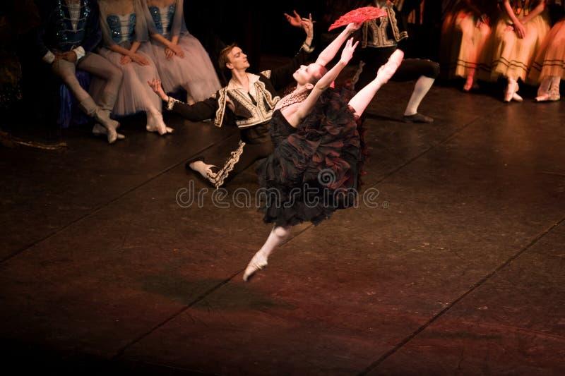 Den spanska dansen royaltyfri bild