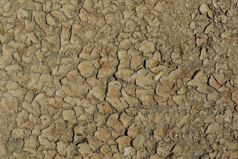 Den spruckna yttersidan av jorden arkivfoto