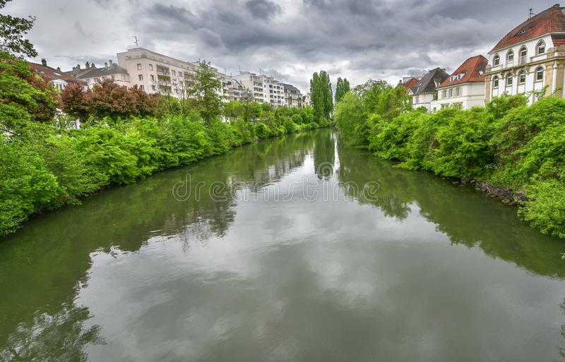 An den Stadtr?nden von Stra?burg, Frankreich lizenzfreie stockfotos