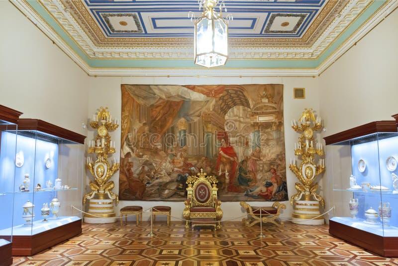 Den statliga eremitboningen är konstmuseet royaltyfri bild