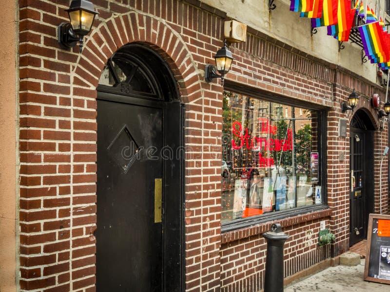 Den Stonewall gästgivargården royaltyfri fotografi