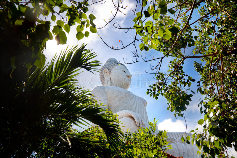 Den stora Buddha i Thailand Lopp till Asien, Phuket arkivfoton
