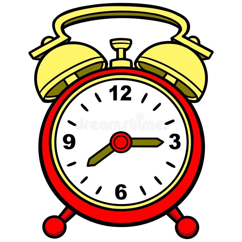 Den stora klockan ser till upp vaken royaltyfri illustrationer