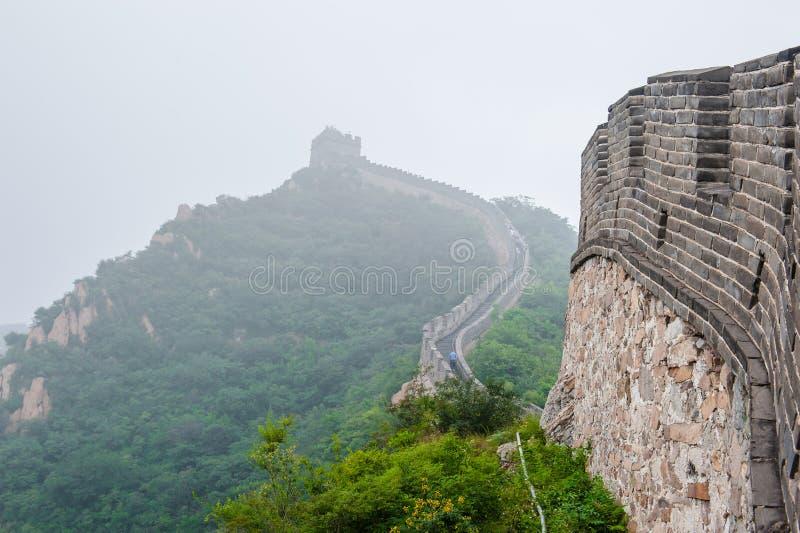 Den stora väggen arkivfoton