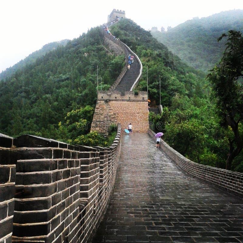 Den stora v?ggen av Kina arkivbild