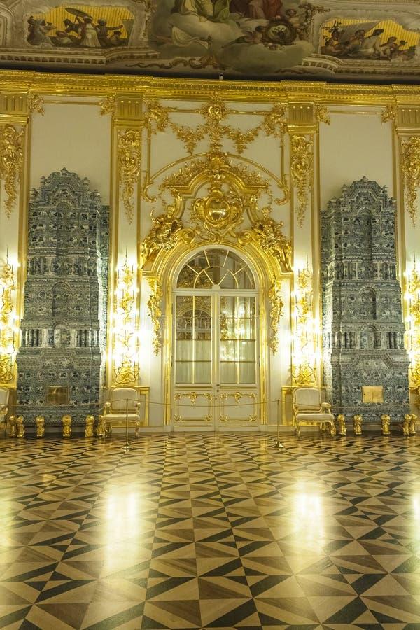 Den storartade balsalen royaltyfria foton