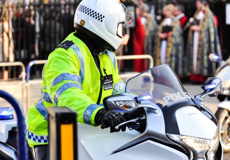 Den storstads- polisen i London, England, UK fotografering för bildbyråer