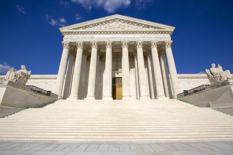 Den suveräna domstolsbyggnaden arkivbild