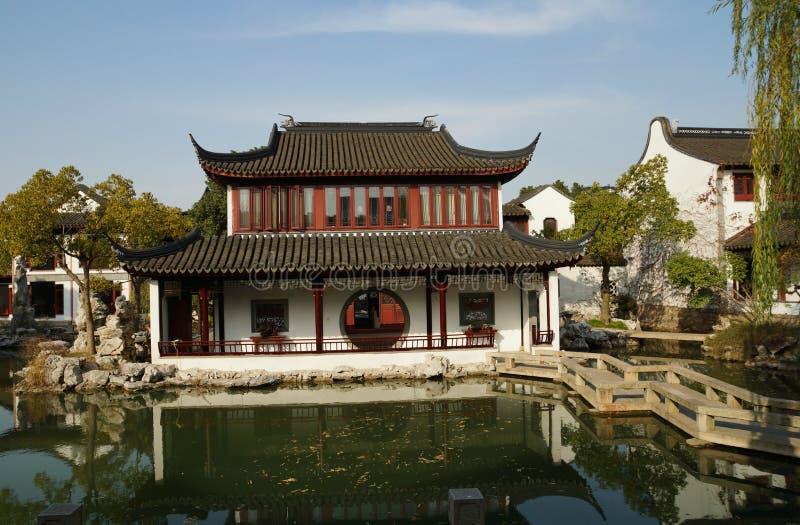 Suzhou Gardensï för Suzhou traditionell gardenï¼ ¼ arkivbild