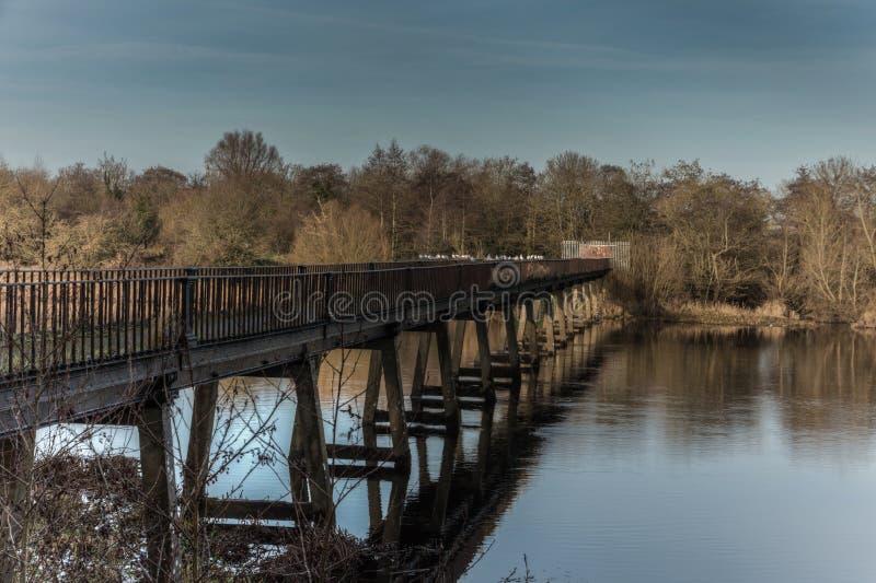 Den svarta bron 28-12-2016 arkivbilder