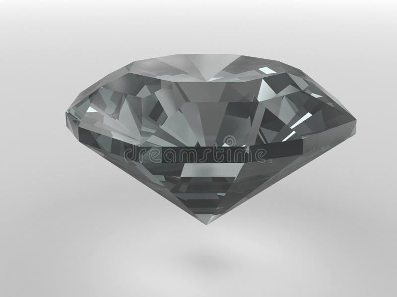 den svarta diamanten framförde skuggor slappa vektor illustrationer