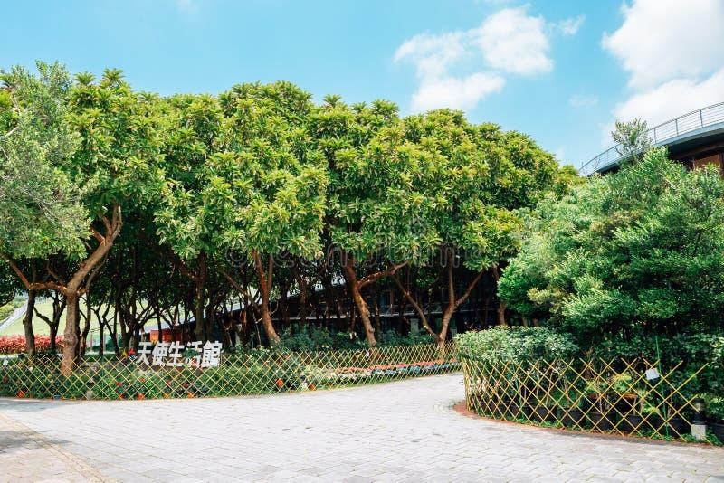 Den Taipei expon parkerar Xinsheng parkerar i Taiwan arkivfoto
