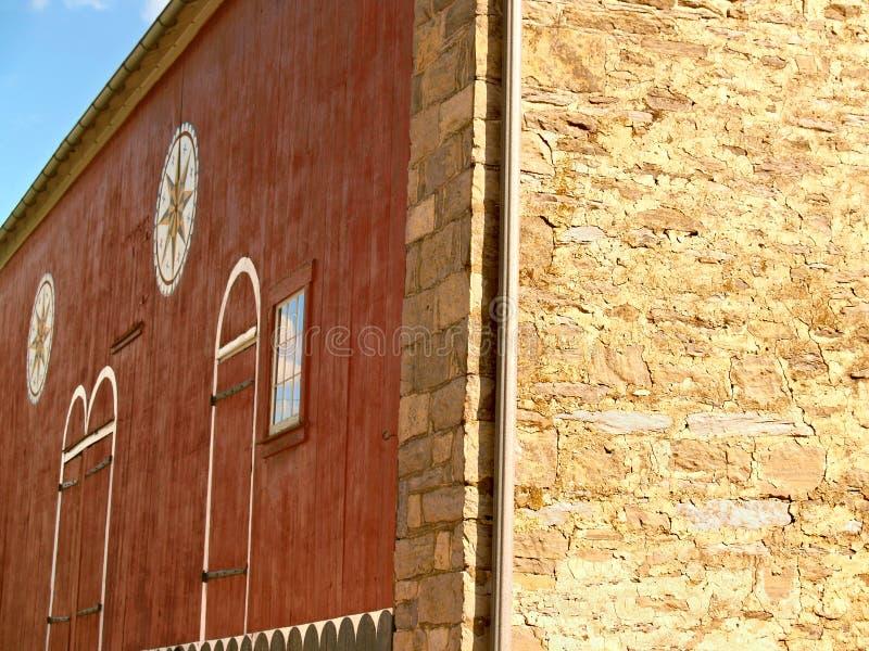 den 18th århundradebankladugården med förhäxer undertecknar in Pennsylvania royaltyfri foto