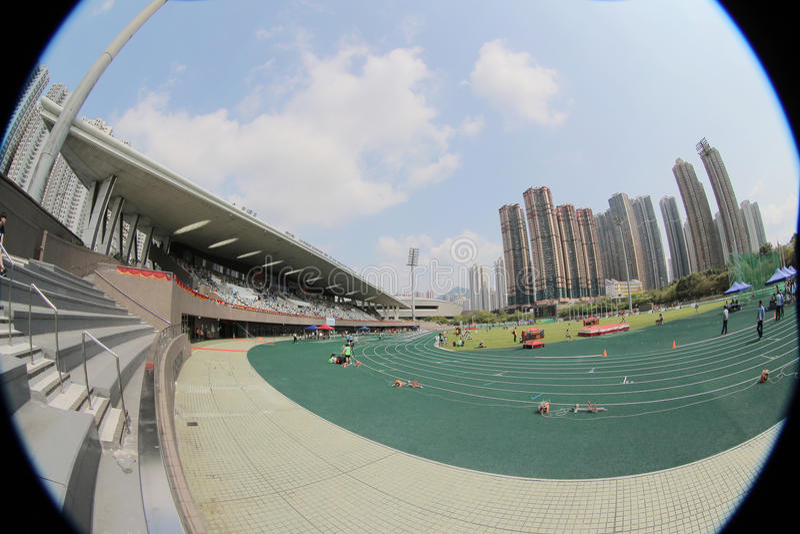 Den 6th Hong Kong Games på tkosportjordning arkivfoto