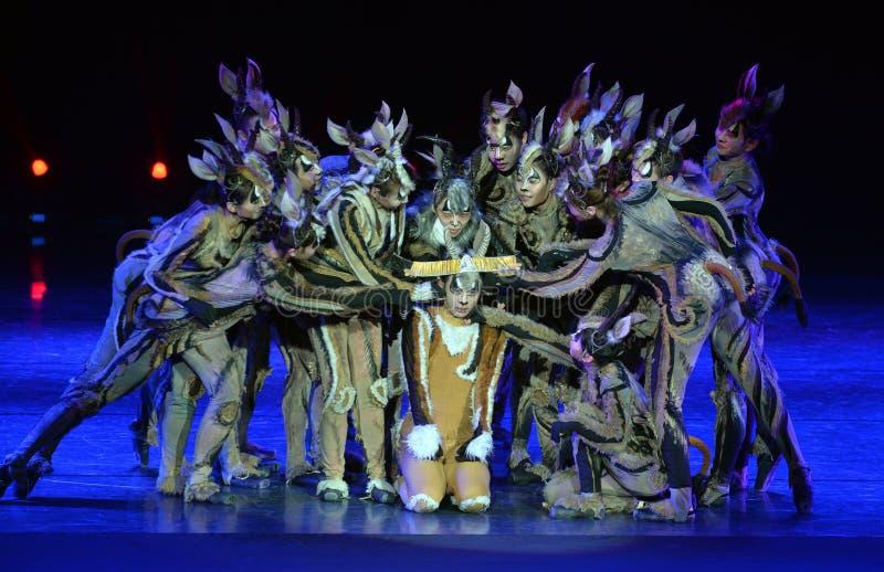Den 4th showen för Kina universitetkonst royaltyfri bild