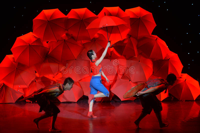 Den 4th showen för Kina universitetkonst royaltyfria bilder