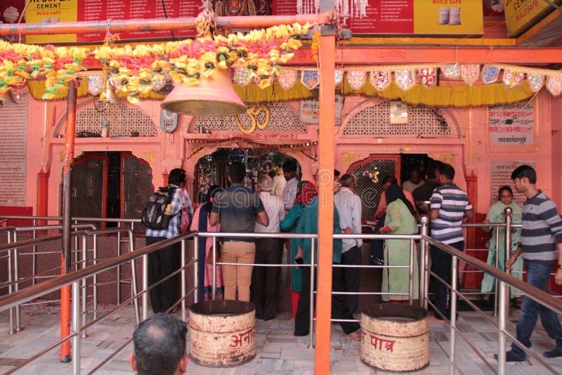 Den Trinetra Ganesha templet, Ranthambore arkivfoto