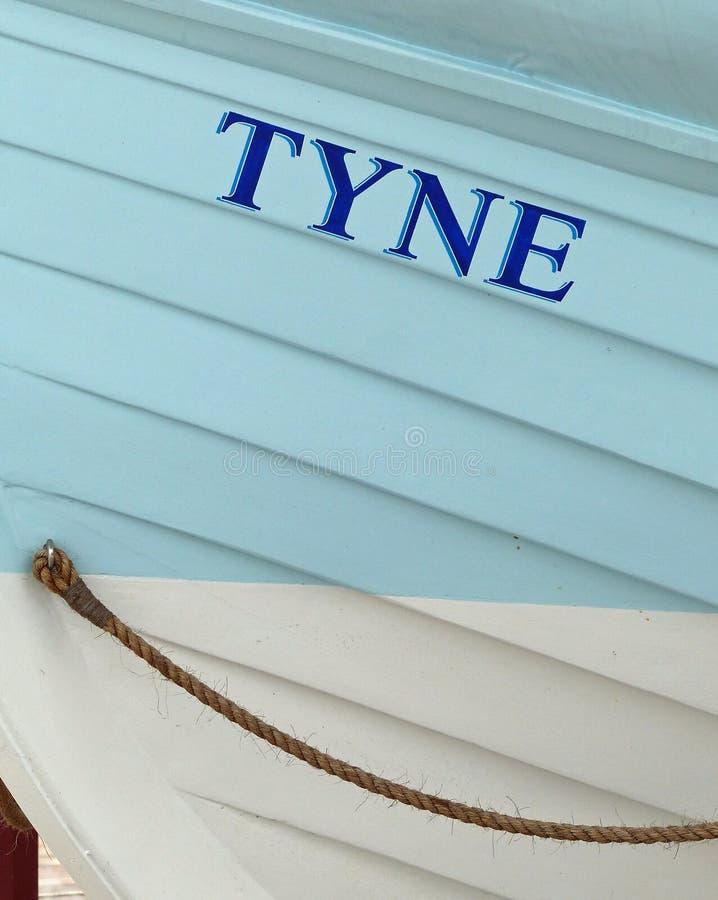 Den Tyne livräddningsbåten, södra sköldar royaltyfri bild