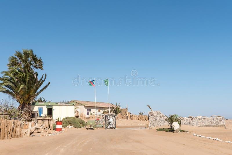 Den Ugabmund porten av den skelett- kustnationalparken royaltyfri foto