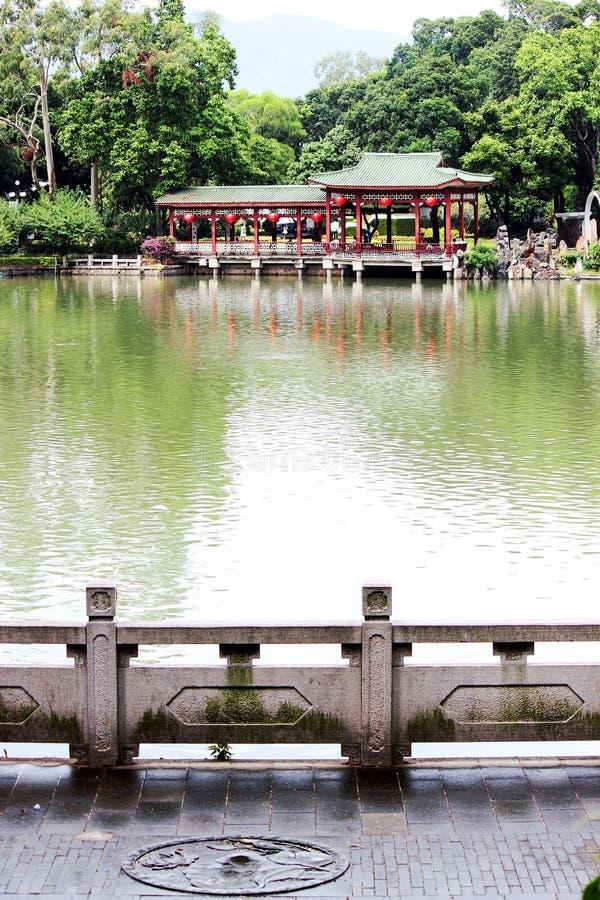 Den västra sjön parkerar arkivfoto