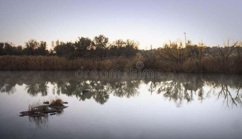 Den Vaal floden royaltyfria bilder