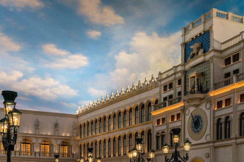 Den Venetian hotellsemesterorten på Las Vegas arkivfoton
