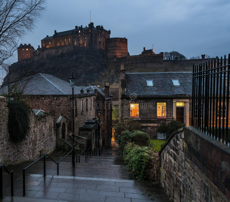 Den Vennel Edinburg royaltyfria bilder