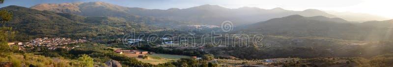 Den Vera regionen av Caceres arkivfoton