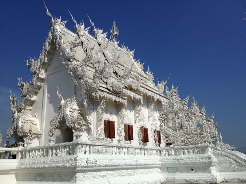 Den vita templet arkivfoto