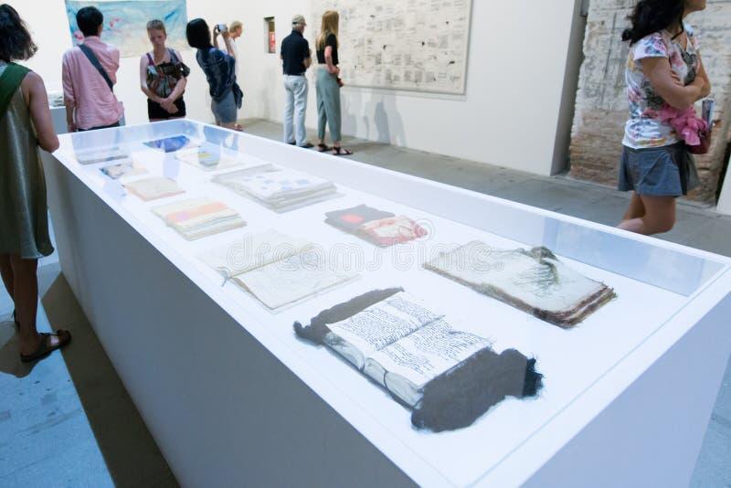 Den Viva Arte Viva för Biennale diVenezia ` `en Italien arkivbilder
