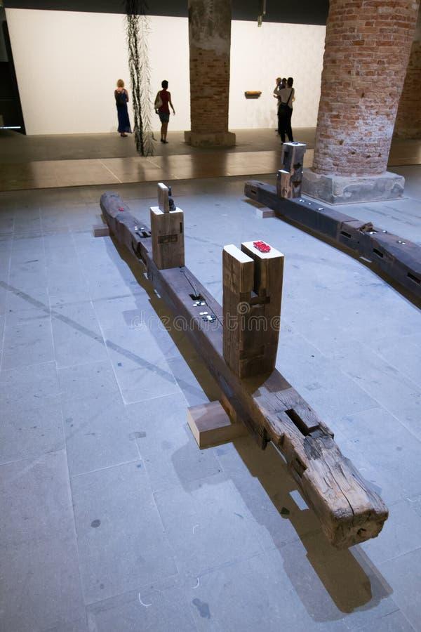 Den Viva Arte Viva för Biennale diVenezia ` `en Italien arkivfoto