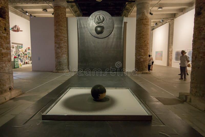 Den Viva Arte Viva för Biennale diVenezia ` `en Italien fotografering för bildbyråer