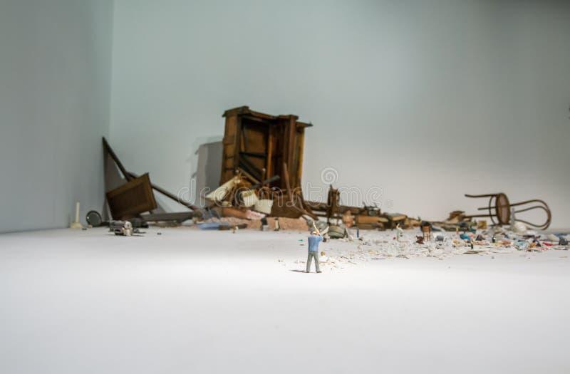 Den Viva Arte Viva för Biennale diVenezia ` `en Italien arkivbild