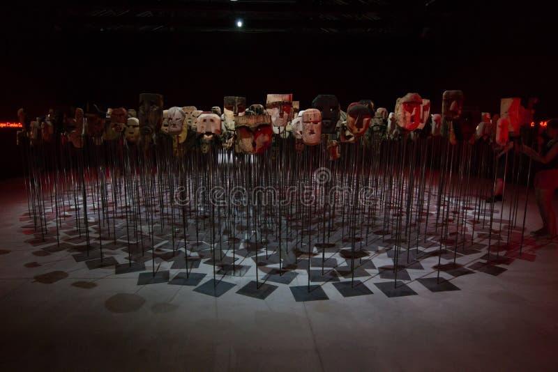 Den Viva Arte Viva för Biennale diVenezia ` `en Italien royaltyfri foto