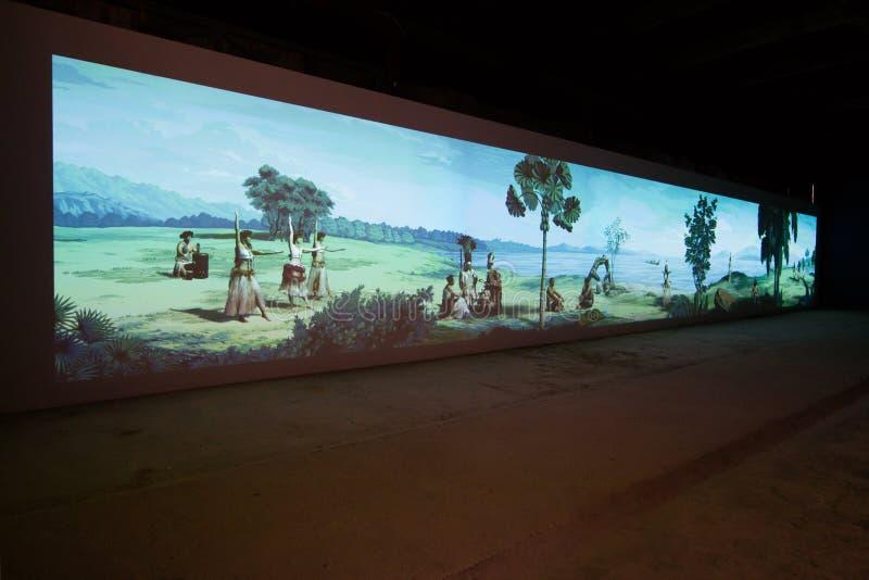 Den Viva Arte Viva för Biennale diVenezia ` `en Italien royaltyfria bilder