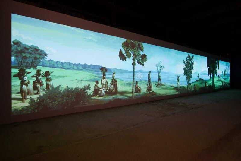 Den Viva Arte Viva för Biennale diVenezia ` `en Italien arkivfoton