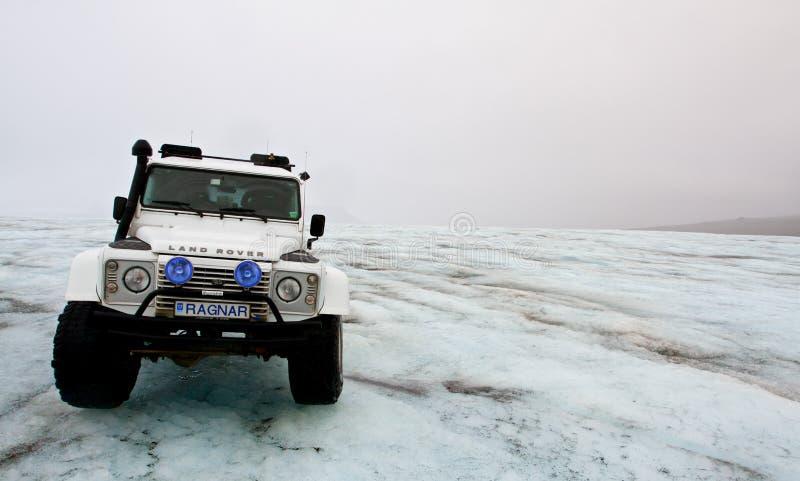 Den Votnajokull glaciären turnerar i Island royaltyfri fotografi