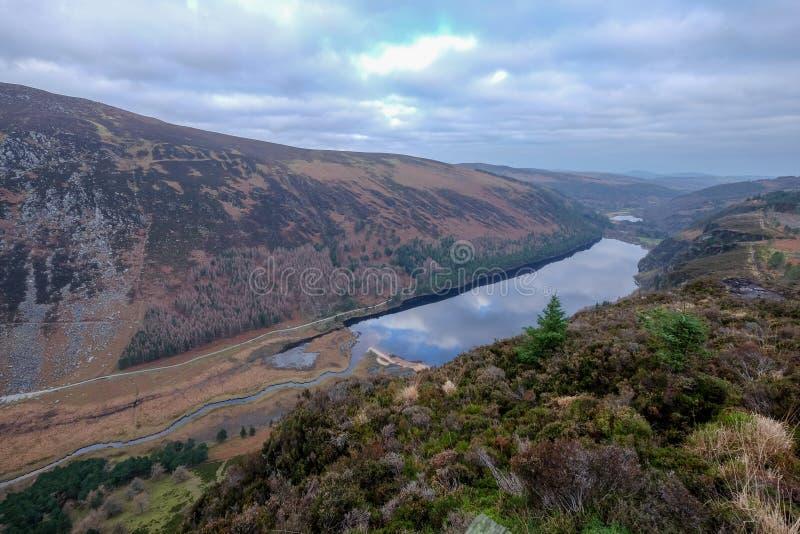 Den Wicklow bergnationalparken fotografering för bildbyråer