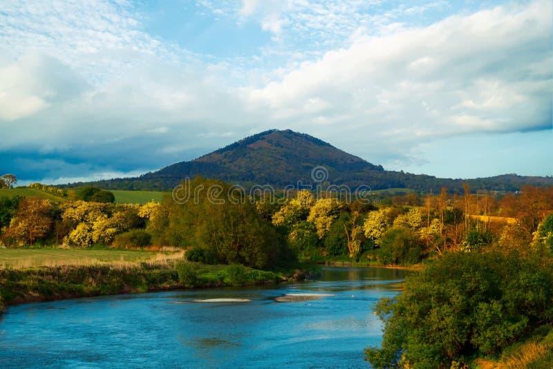 Den Wrekin kullen royaltyfri foto